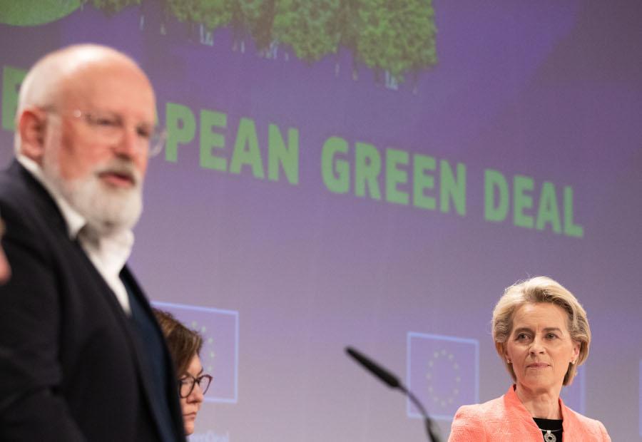 EU klimaoakke offentliggjort 14 juli 2021